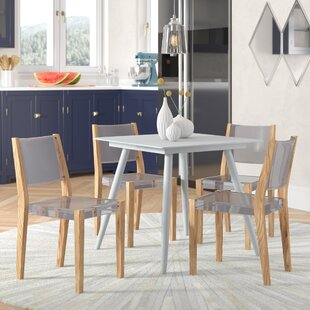 Hsieh Dining Chair (Set of 4) Wrought Studio