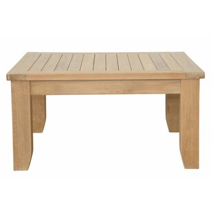 Luxe Teak Coffee Table