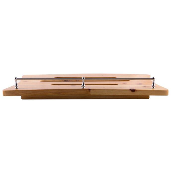 Alfi Brand Wooden Over The Tub Portable Bath Caddy | Wayfair.ca