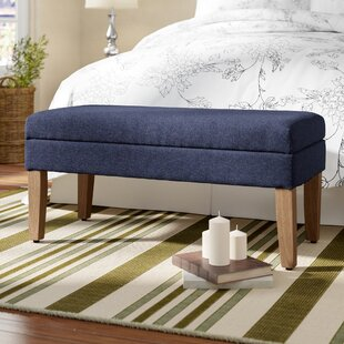 North Andover Decorative Upholstered Storage Bench