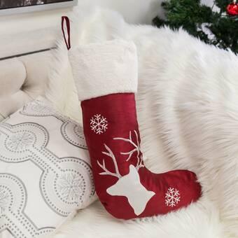 Haute Decor Hangright Deluxe Christmas Stocking Reviews Wayfair