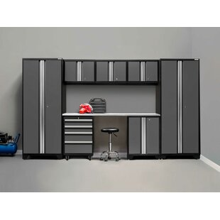 Bold 3.0 8 Piece Storage Cabinet Set by NewAge Products