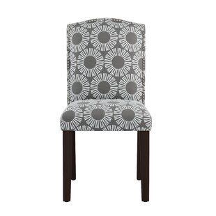 Kelston Nail Button Arched Medallion Side Chair Wrought Studio