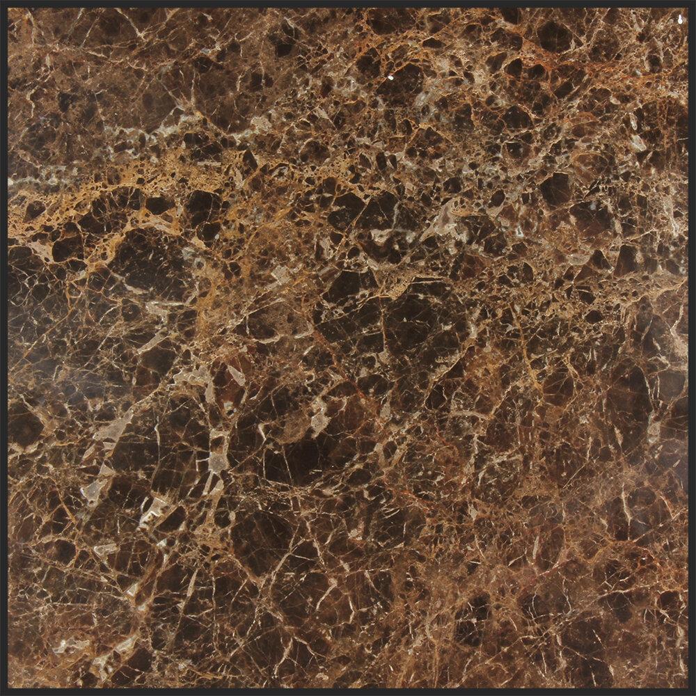 Seven Seas Dark Emperador 18 X 18 Marble Field Tile In Gray Wayfair