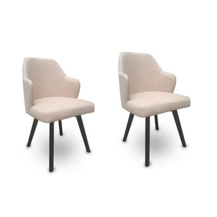 Buckthorn Upholstered Dining Chair (Set of 2) Brayden Studio