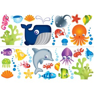 Connor Under The Sea Wall Decal