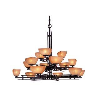 Minka Lavery Lineage 15-Light Shaded Chandelier