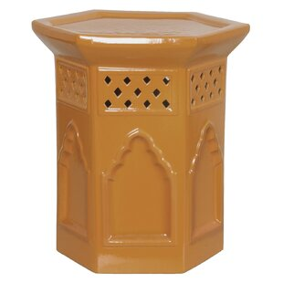 Emissary Home and Garden Morac Hex Garden Stool