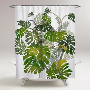 Karrissa Jungle Tree Single Shower Curtain