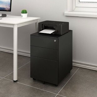 Review Hambly 3 Drawer Mobile Filing Cabinet