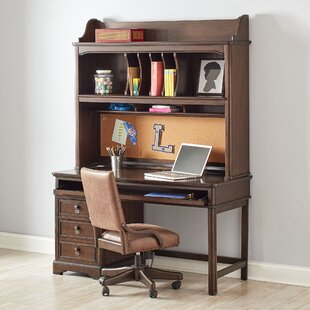 Inexpensive Roscoe Computer Desk with Hutch By Viv + Rae