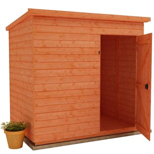 Tiger 12 Ft. W X 8 Ft. D Shiplap Pent Wooden Shed By Tiger Sheds