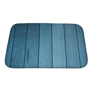 Wood Decking Bath Rug