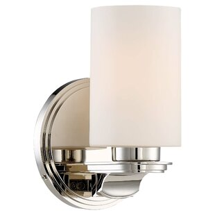 Top Reviews Ovid 1-Light Bath Sconce By Darby Home Co