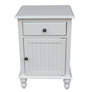 Quahog Nightstand by Rosecliff Heights