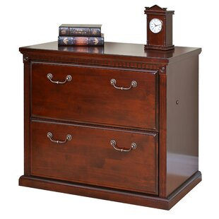 Martin Home Furnishings Huntington Club 2-Drawer Lateral File Cabinet