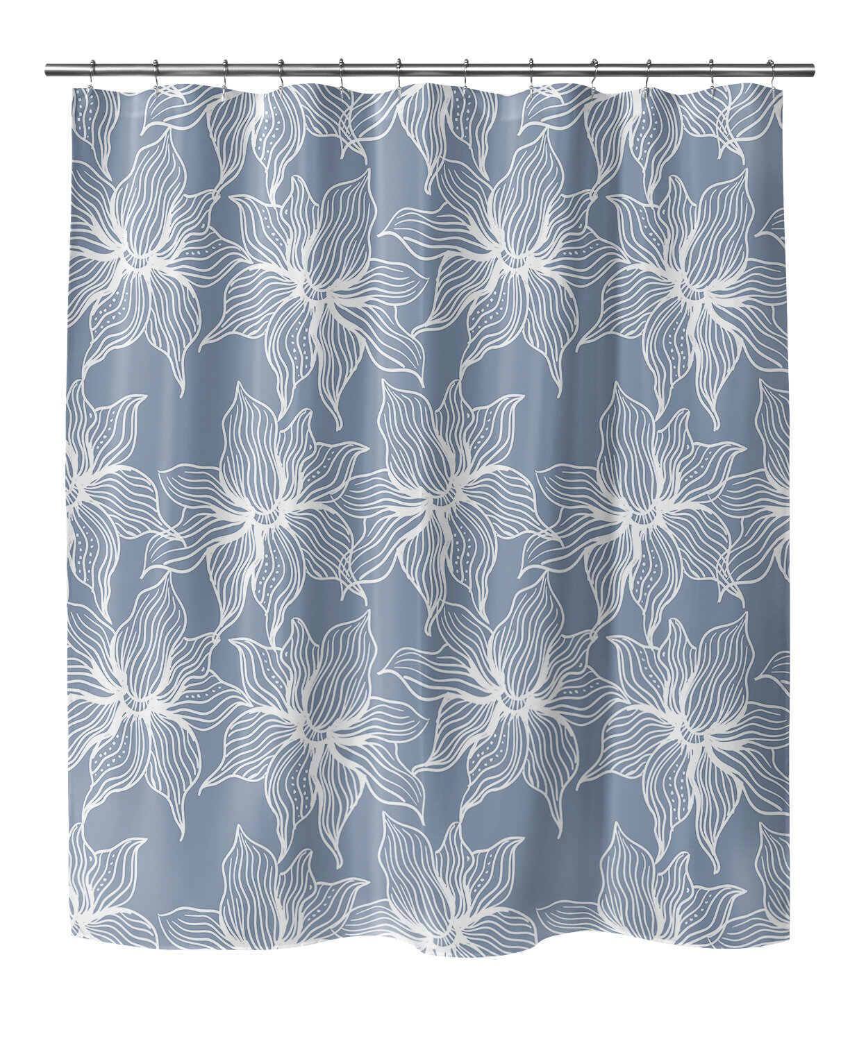 Nature Floral Bay Isle Home Shower Curtains Shower Liners You Ll Love In 2021 Wayfair