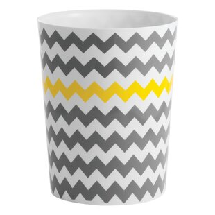 InterDesign Chevron Waste Basket
