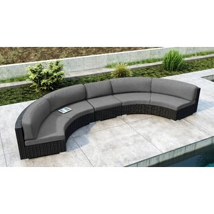 Glendale 3 Piece Sectional Set with Sunbrella Cushion