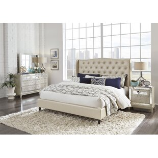 Mcmorrow Upholstered Panel Bed by House of Hampton