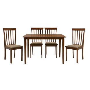 Megan Dining Set With 4 Chairs By Marlow Home Co.