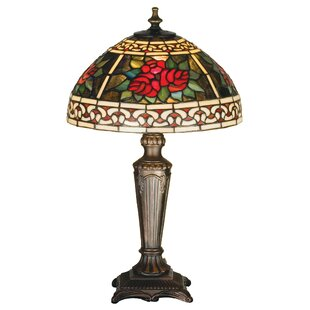 16.5 High Roses & Scrolls Table Lamp