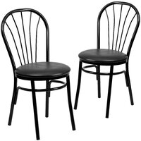 Deals on Chafin Upholstered Fan Side Chair (Set of 2)