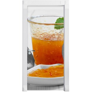 Oranges, Orange Marmalade, Orange Juice Door Sticker By East Urban Home