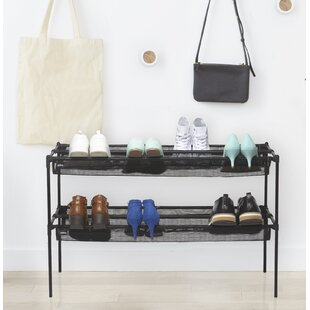 Best Choices Sling 18 Pair Stackable Shoe Rack By Umbra