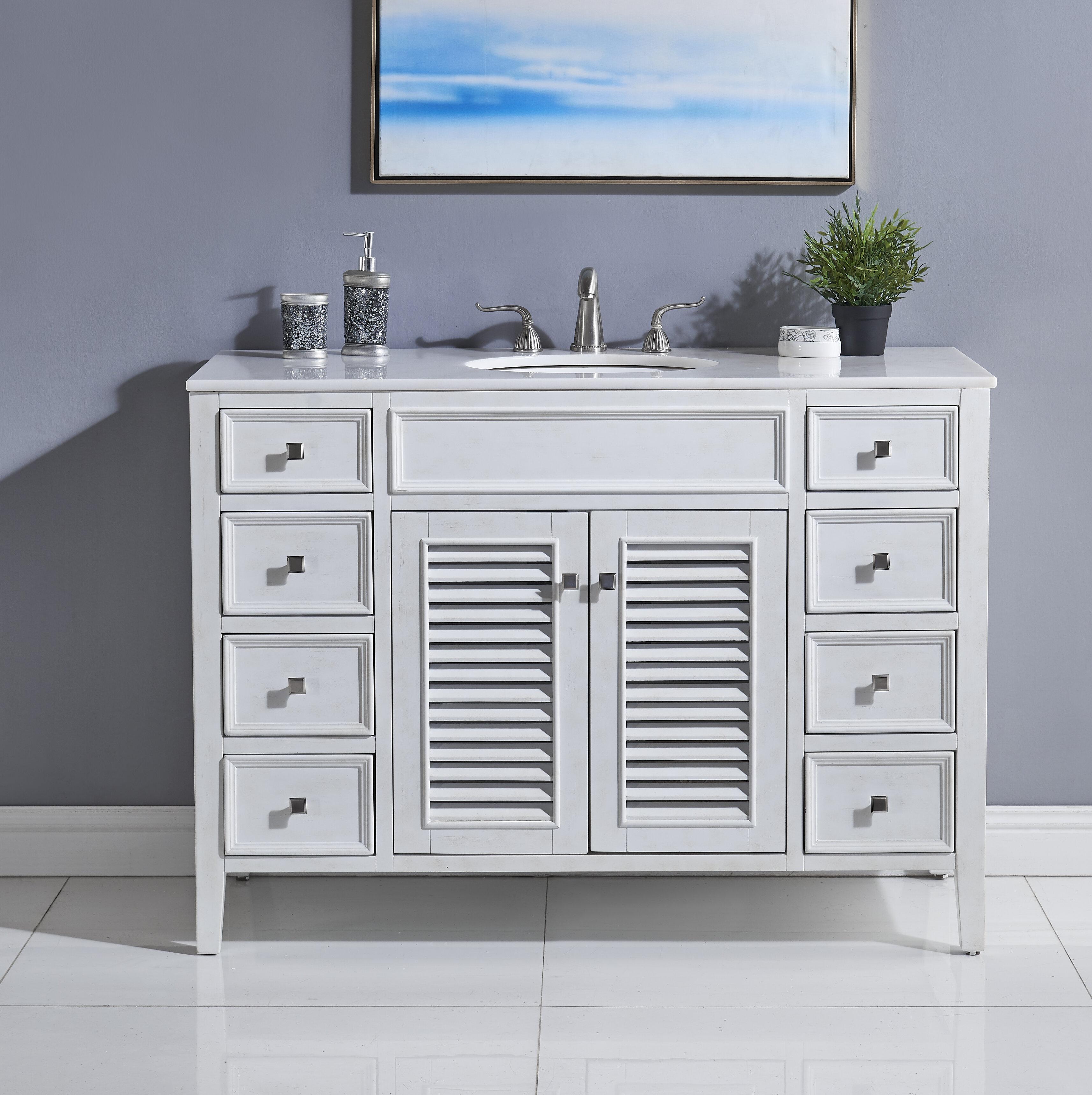 Sandburg 48 Single Bathroom Vanity Set Reviews Joss Main