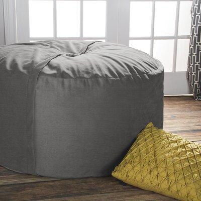 Superb Jaxx Bean Bag Lounger Upholstery Gray Machost Co Dining Chair Design Ideas Machostcouk
