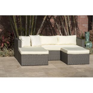 Voyles 3 Piece Sectional Set with Cushions