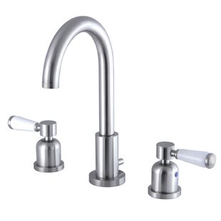 Kingston Brass Paris Widespread Bathroom Faucet with Drain Assembly