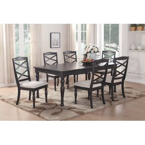 Hoboken 7 Piece Dining Set by A&J Homes Studio