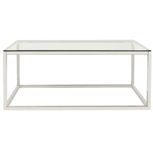 Buffington Stainless Steel Coffee Table by Mercury Row