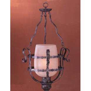 Classic Lighting Malaga 1-Light Urn Pendant