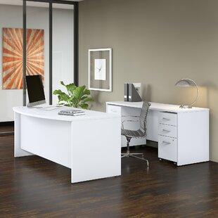 Bush Business Furniture Studio C 3 Piece Desk Office Suite