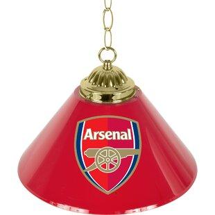 Trademark Global Premier League Single Shade 1-Light Pool Table Lights Pendant