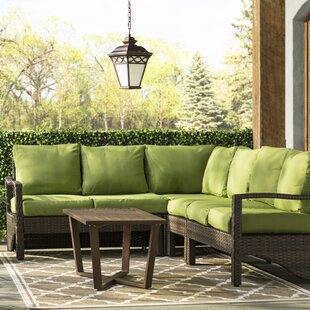 Augusta 5 Piece Sectional Set with Cushions