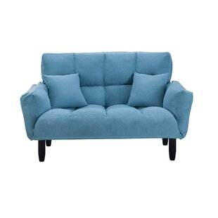 Edsall 55 Round Arm Loveseat by George Oliver