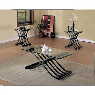 Ebern Designs Stowmarket 3 Piece Coffee Table Set