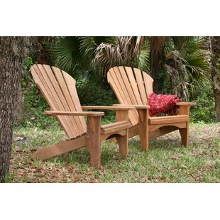 Oneill Atlantic Solid Wood Adirondack Chair