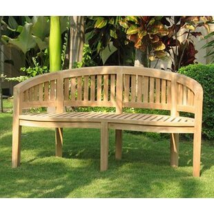 Lucian Teak Bench By Sol 72 Outdoor