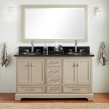 Quen 61 Double Bathroom Vanity Set by Signature Hardware