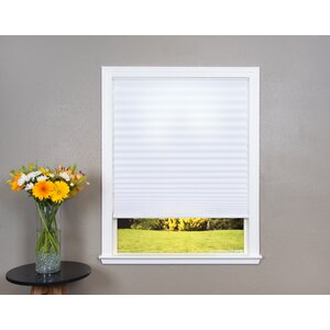 Easy Lift Trim-at-Home Cordless Light Filtering Fabric Pleated Shade