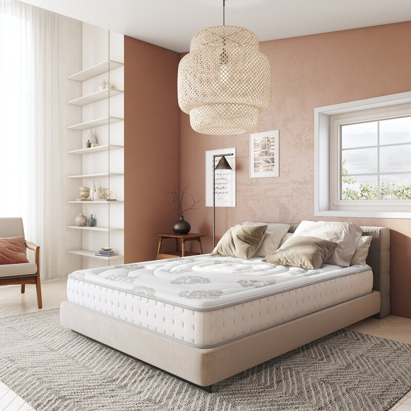 "Wayfair Sleep 10.5"" Medium Hybrid Mattress"
