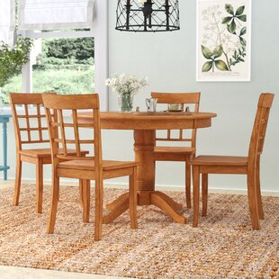 Alverson 5 Piece Dining Set by August Grove Great price