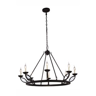 Bungalow Rose Tyson 8-Light Chandelier