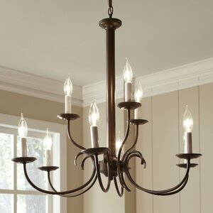 Robbins 9-Light Candle-Style Chandelier