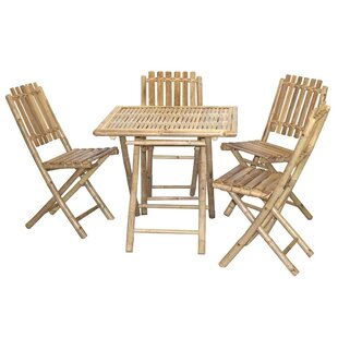 Bamboo54 5 Piece Bistro Set
